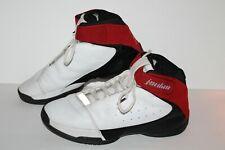 Nike Jordan Team Strong Basketball Shoes, #311868-101, Wht/Blk/Red, Men's US 13