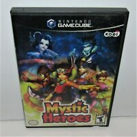 Mystic Heroes (Nintendo GameCube, 2002) Game & Manual in Case Tested & Working