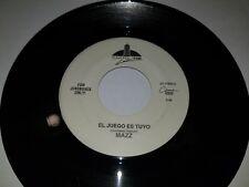 """MAZZ El Juego Es Tuyo / Que Esperabas CAPITOL EMI 17825 45 VINYL 7"""" TEJANO"""