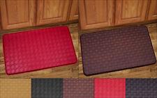 "Kitchen Floor Mat Rug 30"" x 18"" Memory Foam Anti Fatigue Playa or Diamond"