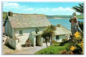Postcard The Pilchard Inn Burgh Island Devon