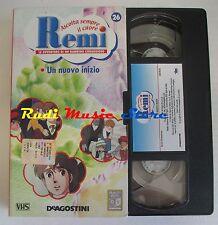 film VHS cartone REMI  NR. 26 - 1  EPISODIO - DE AGOSTINI 2004 (F9)  no dvd