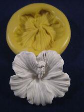 Hibiscus flower Silicone Molds Gumpaste Fondant Chocolate polymer clay 303A