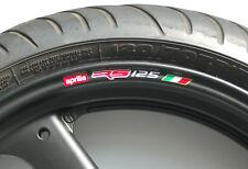 Honda Rs125 Rueda Llanta Stickers-Colores Rs 125 Fp R
