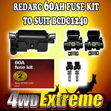 GENUINE REDARC 60A FUSE & FUSE HOLDER KIT BCDC1240 DUAL BATTERY SYSTEM FK60