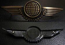(No0939) German Bundeswehr Luftwaffe QUALIFICATION BADGE AIRCRAFT CREW BRONZE