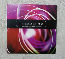 "CD AUDIO/ INCOGNITO ""NO TIME LIKE THE FUTURE"" CD ALBUM PROMO CARD SLEEVE 1999"
