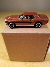 Matchbox 1968 Ford Mustang GT CS Metalflake Brown 2010 First Editions!Loose!