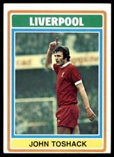 Topps Football Blue/Grey 1976 (B1) John Toshack Liverpool No. 190