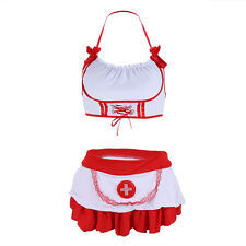 Sexy-Women Nurse Uniforms Lingerie Fancy Dress Sets Outfit Party Costume Cosplay