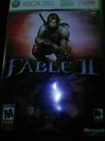 Microsoft Xbox 360 Fable II 2 with manual tested working a25