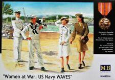 Master Box 1/35 Mujeres en guerra: US Navy olas # 3556 @