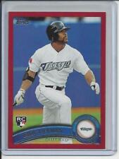 2011 Topps Target Red Border #US288 Eric Thames RC SP   Ships in Screwdown