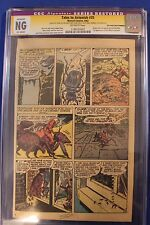 Tales To Astonish #35 6&9Pg CGC Signed SS STAN LEE 1st costume ORIGIN of Ant-Man