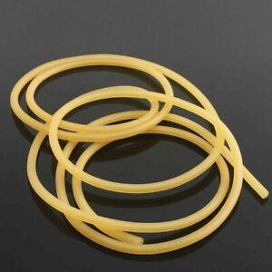 1 Meter Natural Latex Surgical Rubber Tube Elastic Band for Slingshot 2mmx5mm 1M