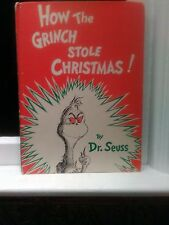 HOW THE GRINCH STOLE CHRISTMAS ,1957 VINTAGE BOOK BY DR SEUSS