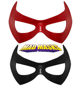 Red Hood Jason Todd Robin Young Justice Superhero Masks - FREE bonus!