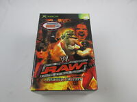 WWE RAW Limited Edition Xbox Japan Ver