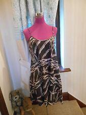 Beautiful All Saints Bandini Vest Dress Brown Size 8 (10) BNWOT