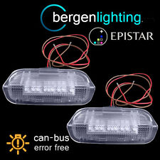 FOR VOLKSWAGEN GOLF & PLUS MK5 & MK6 18 LED REAR DOOR LIGHT LIGHT LAMP PAIR