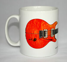 Guitar Mug. Carlos Santana's PRS Prototype Guitar Illustration.