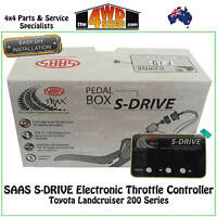 SAAS S-DRIVE Electronic Throttle Controller fit Toyota Landcruiser 200 Series