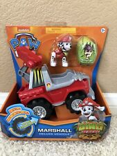 Paw Patrol DINO RESCUE Marshall Vehicle & Figure Rev UP  Nick Jr TRUCK