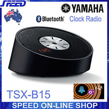Yamaha TSX-B15 Clock Radio & Bluetooth Speaker – BLACK