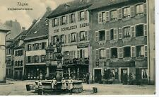 France Thann - La Fontaine old postcard