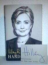 Hillary Clinton Signed Hard Choices 1St/1St Hb - First Edition Autographed