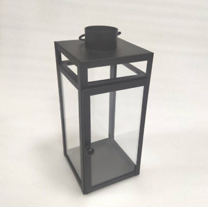 Threshold Decortative Indoor, Outdoor Modern Glass Metal Candle Holder Lantern