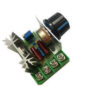 5V-220V Variable Regulator PWM Controller AC  Motor Speed Switch Control