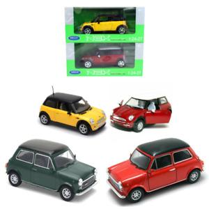 Die Cast Mini Cooper 1300 Scale Model Car Welly Toy Model Classic