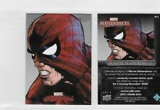 Marvel Masterpieces 3  Promo Card P11 Spider-Man  P-11 By Upper Deck 2008  RARE