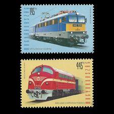 "Hungary 2013 - Locomotives ""Szili"" and ""Nohab"" Railways Train - Sc 4285/6 MNH"