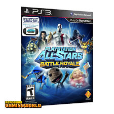 NEW Playstation All Stars Battle Royale ESSENTIALS Sony PS3 Game