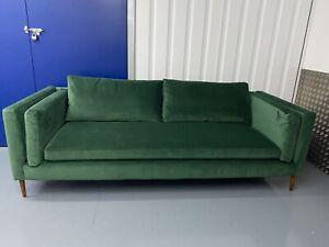 Sofa WorkShop Eden 4 Seater Sofa in Teal Velvet (RRP £1,995)