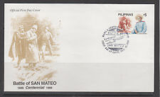 Philippine Stamps 1999 Battle of San Mateo Centenary Complete on FDC