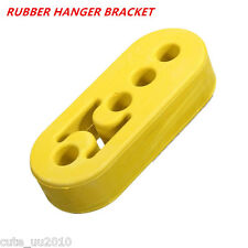 Vehicles Car Exhaust Pipe Mount Rubber Brackets Hanger Insulator 12mm 4Holes New