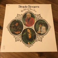 The Staple Singers Be What You Are Reissue Remastered LP Stax STS 3015 MPS-8553