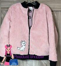 Disney The Aristocats Marie Sherpa Zip Jacket for Women