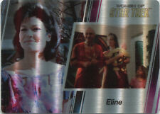 2017 Women of Star Trek 50th Anniversary #56 Parallel Metal Base Card Eline