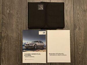 BMW 3 SERIES PLUG IN HYBRID E F30 OWNERS HANDBOOK MANUAL & WALLET 2014-2018 330e