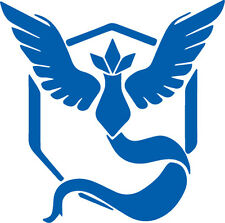 Pokemon Go Team Mystic in blue Car/Truck/Vinyl Decal/Sticker iPad macbook
