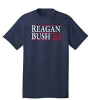 Ronald Reagan Bush President 1984 T-Shirt Republican Political Retro Tee USA