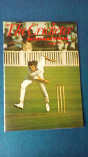 The Cricketer International August 1974 magazine. Chris Old cover.