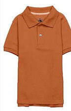 Boys J Khaki Polo Orange Size 4 NWT