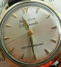 Starburst Vintage 1954 Men's Bulova 23J Selfwinding Crab Leg Lug Automatic Watch