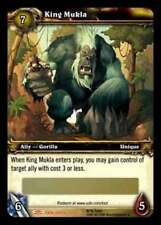 World of Warcraft King Mukla Loot Card - IN HAND