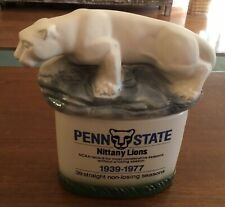 Michter's Distillery Penn State Nittany Lions 1939-1977 Whiskey Decanter